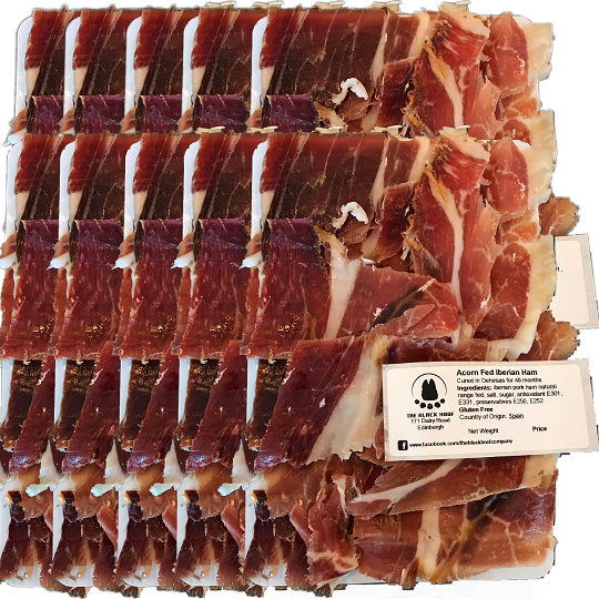 pata negra - black label iberico ham